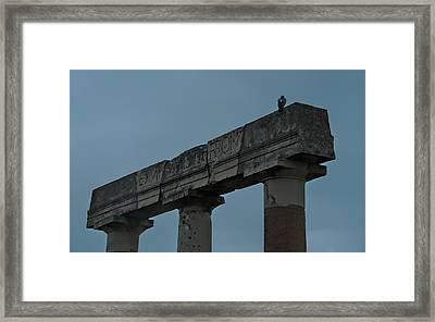 Pompeii Italy Framed Print by Cendrine Marrouat