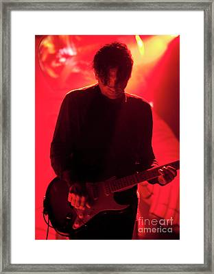 Primus At All Good Festival - Les Claypool Framed Print