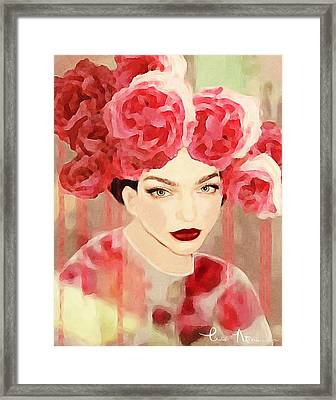 Rose Framed Print by Lisa Noneman