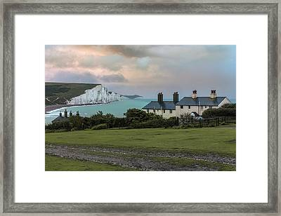 Seven Sisters - England Framed Print