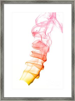 smoke XIX Framed Print