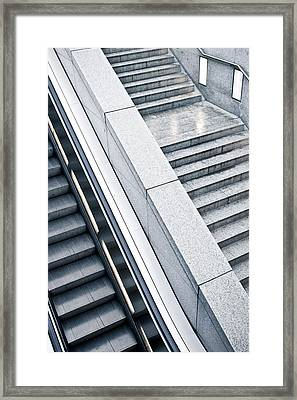 Stairs Framed Print by Tom Gowanlock