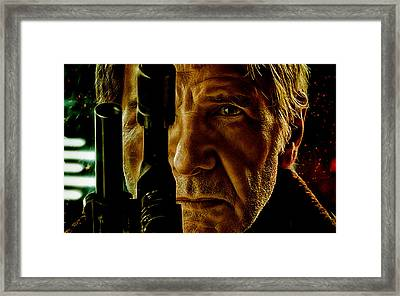 Star Wars Han Solo Collection Framed Print by Marvin Blaine