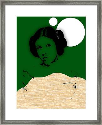 Star Wars Princess Leia Collection Framed Print