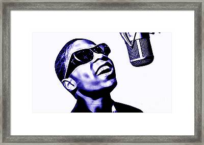 Stevie Wonder Collection Framed Print