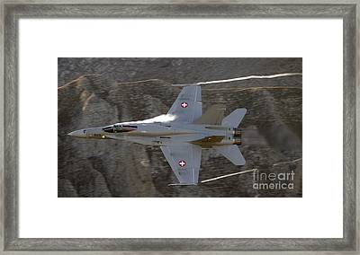 Supersonic Framed Print by Angel  Tarantella