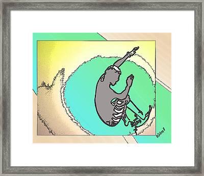 Surf Art Framed Print by W Gilroy
