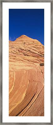 The Wave, Sandstone Formation, Kenab Framed Print by Panoramic Images