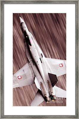 Thrust Framed Print by Angel  Tarantella