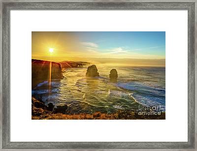 Twelve Apostles Victoria Framed Print