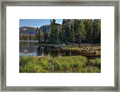 Uinta Mountains, Utah Framed Print