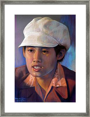 Untitled Framed Print by Chonkhet Phanwichien
