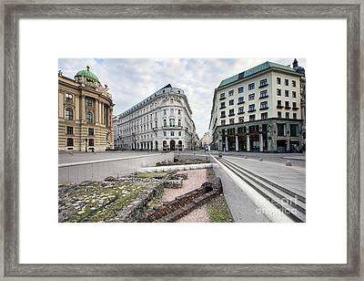 Vienna Framed Print by Andre Goncalves