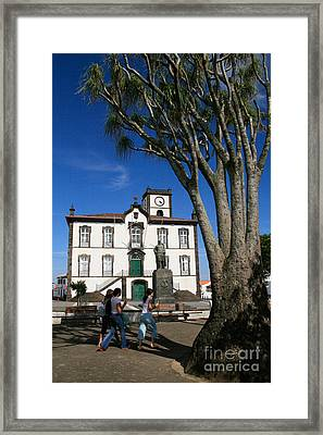 Vila Franca Do Campo Framed Print by Gaspar Avila