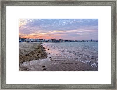 Weymouth - England Framed Print