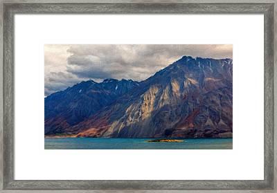 K Landscape Framed Print