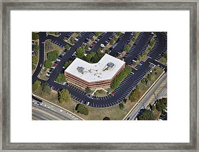 600 W Germantown Pike Plymouth Meeting Pa 19462 Framed Print by Duncan Pearson