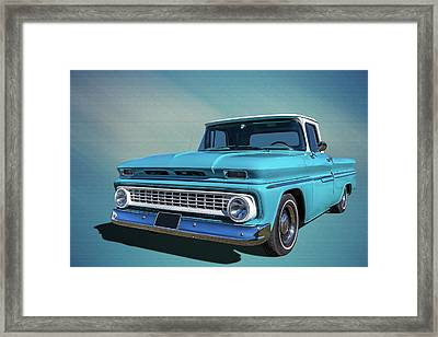 60s Pickup Framed Print