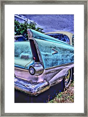 60s Plymouth Framed Print by Corky Willis Atlanta Photography