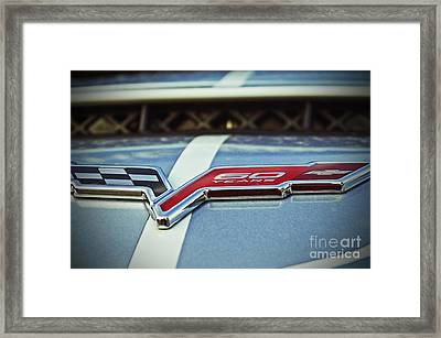 60th Anniversary Corvette Framed Print