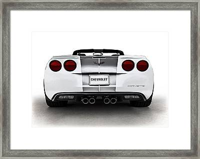 60th Anniversary Corvette Framed Print by Douglas Pittman