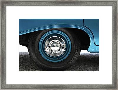 61 Impala Wheel Framed Print