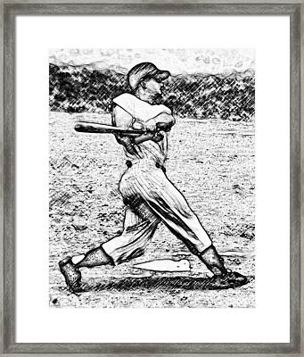 61 In 61 Framed Print by Anthony Caruso