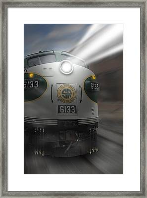 6133 On The Move Framed Print by Mike McGlothlen