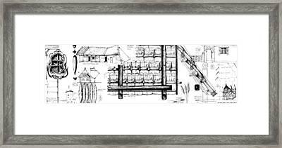 6.13.hungary-2-detail-c Framed Print by Charlie Szoradi