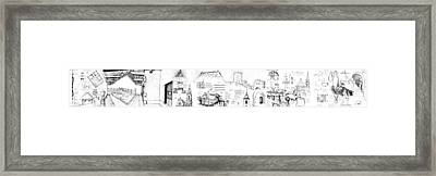 6.15.hungary-2-detail-e Framed Print by Charlie Szoradi