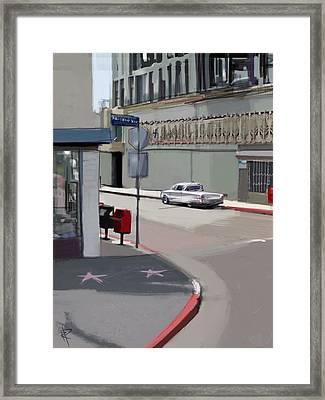 62 Ford Ranchero Framed Print by Russell Pierce