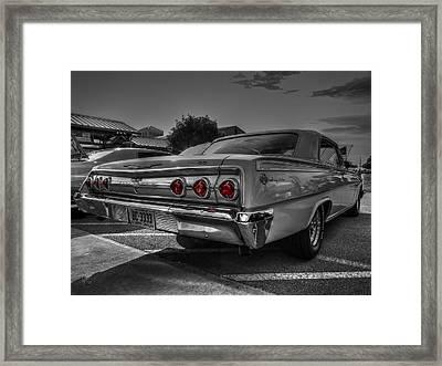 '62 Impala Ss 001 Framed Print