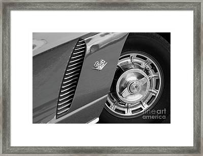 Framed Print featuring the photograph '62 In Black And White by Dennis Hedberg