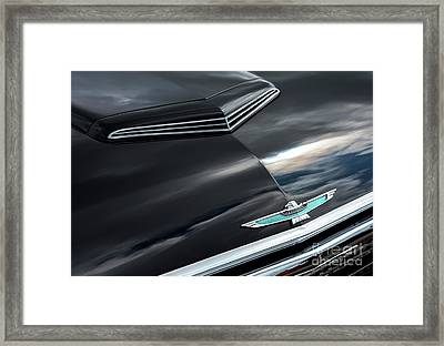 Framed Print featuring the photograph 62 Thunderbird by Tim Gainey