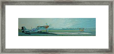 624 Ready To Roll. Framed Print by  Keith Kochenour