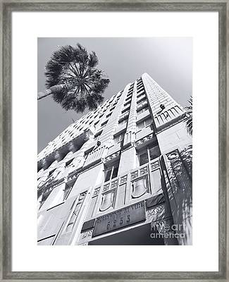 6253 Hollywood At Vine Framed Print