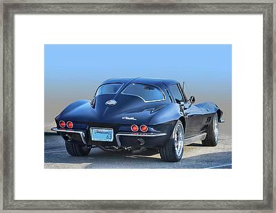 63 Swc In Black Framed Print by Bill Dutting