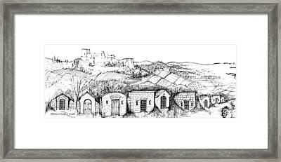 6.39.hungary-4-detail-j Framed Print by Charlie Szoradi