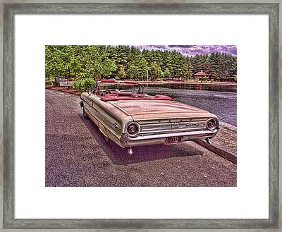 64 Ford Framed Print by Paul Godin