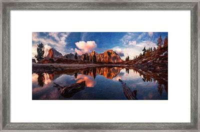 G H Landscape Framed Print