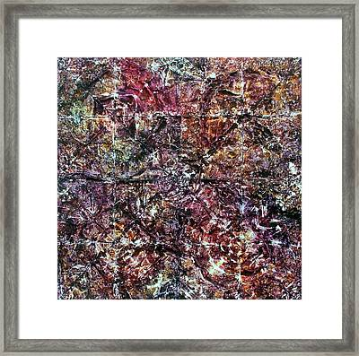 64-offspring While I Was On The Path To Perfection 64 Framed Print