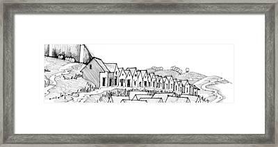 6.40.hungary-4-detail-k Framed Print by Charlie Szoradi