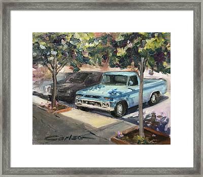 '65 Gmc Framed Print by Kevin Carlson