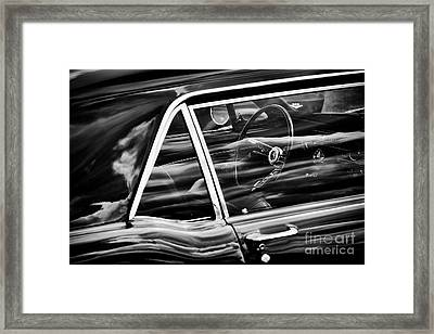 Framed Print featuring the photograph 65 Mustang by Tim Gainey