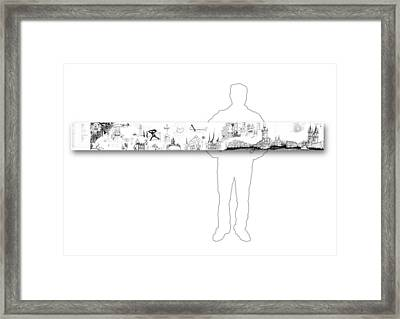 6.51.hungary-6-horizontal-with-figure Framed Print