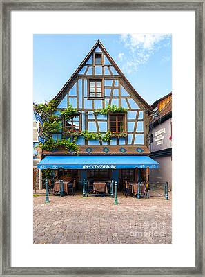 Half-timbered Houses, Colmar, Kaysersberg Alsace France  Framed Print by Marco Arduino