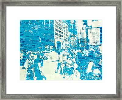 665 Fifth Avenue New York City Framed Print by Jonathan Deutsch
