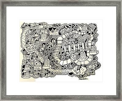 666 Framed Print by Chelsea Geldean