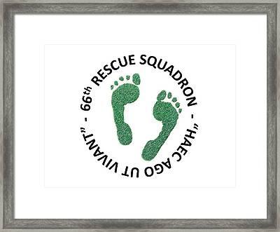 66th Rescue Squadron Framed Print