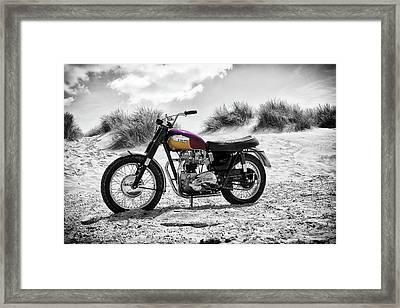 67 Bonneville Tt Special Framed Print